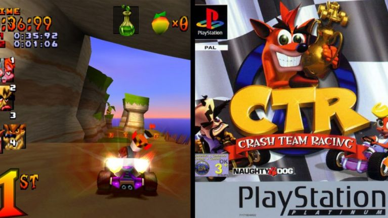 Character In Crash Team Racing Game, Lets Nostalgic With This Game !