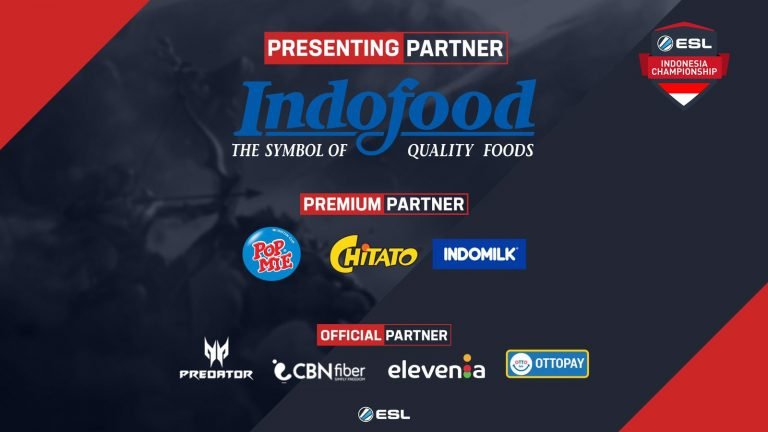 ESL Collaborates with the Largest Food and Beverage Company in Indonesia for the Indonesian ESL Championship Tournament